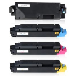 Huismerk Kyocera TK-5140 multipack (zwart + 3 kleuren)
