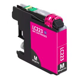 Huismerk Brother LC-223M magenta incl. chip