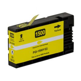 Huismerk Canon PGI-1500 XL geel
