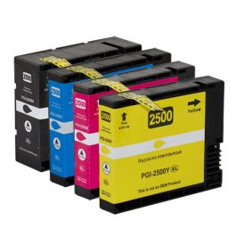Huismerk Canon PGI-2500 XL multipack (zwart + 3 kleuren)