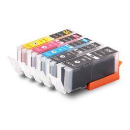 Huismerk Canon PGI-570 XL + CLI-571 XL multipack 2 x zwart + 3 kleuren incl. chip