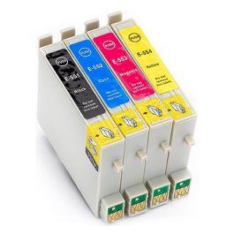 Huismerk Epson T0556 multipack (zwart + 3 kleuren)