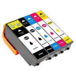 Huismerk Epson 26XL (T2636) multipack (2 x zwart + 3 kleuren)