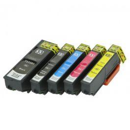 Huismerk Epson 33XL (T3357) multipack 2 x zwart + 3 kleuren incl. chip