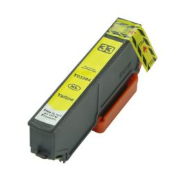 Huismerk Epson 33XL (T3364) geel incl. chip