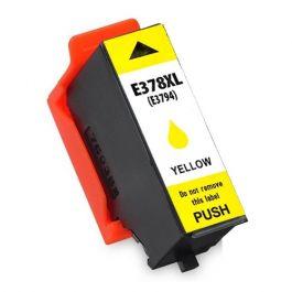 Huismerk Epson 378XL (T3794) geel incl. chip